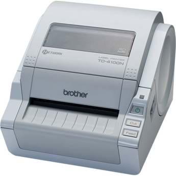 סופר מדפסת מדבקות Brother TD-4100N - מתיפרינט RM-58
